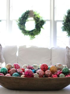 24 Creative DIY Christmas Bowl Displays