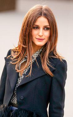 Olivia Palermo's sexy straight hair
