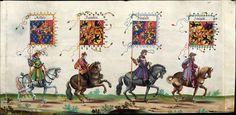 Artist: various, Title: »Triumphzug Kaiser Maximilians« Page 57, Date: 1526