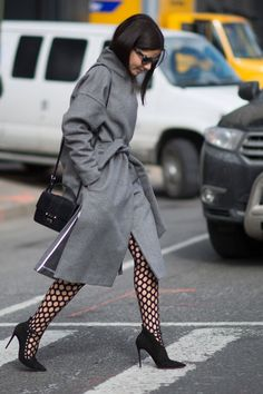 STYLECASTER | Non-Depressing Ways to Wear Tights