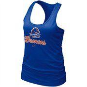 #fanaticsSummerWishlsit Nike Boise State Broncos Ladies Royal Blue Bling Premium Racerback Tank Top