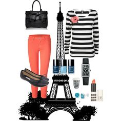 peachy in paris, created by hollybro.polyvore.com