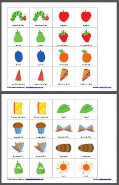 The Very Hungry Caterpillar Match Game Author: Lauren Hill Platforms: Wind