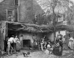 Telling: The letters reveal the daily concerns of the African Americans living in the South in the mid-1800s, from their housework to their health and devotion to the church (picture of Kentucky home, 1859)