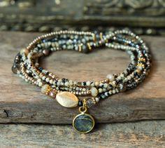 Boho Jewelry, Beaded Jewelry, Jewelery, Jewelry Accessories, Handmade Jewelry, Women Jewelry, Beaded Necklace, Handmade Wire, Jewelry Necklaces