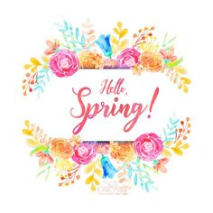 Free printables with inspirational Spring quotes and sayings - Craft-Mart Hello Spring Wallpaper, April Easter, Spring Quotes, Welcome Spring, Spring Art, Happy Spring, Lettering, Diy Painting, Printable Wall Art