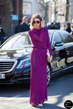 Megan Bowman Gray Street Style Street Fashion Streetsnaps by STYLEDUMONDE Street Style Fashion Photography