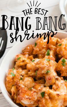 Shrimp Recipes For Dinner, Shrimp Recipes Easy, Fish Recipes, Seafood Recipes, Asian Recipes, Appetizer Recipes, New Recipes, Cooking Recipes, Favorite Recipes