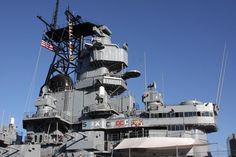 USS Iowa - Front Conning Tower - 1985