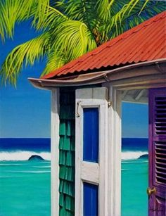 Colors of Saint Barth. This reminds me of the movie The Legend Of Johnny Lingo.