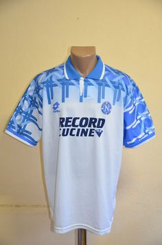 Napoli italy 1994 1995 away football shirt jersey maglia camiseta  10 lotto c536837b0