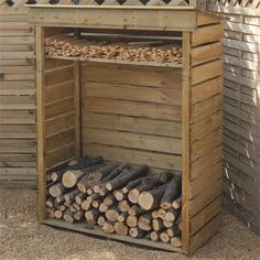 finished pallet sheds | Details about NEW LOG STORE WOOD STORAGE FIREWOOD STORES KEEPS FIRE ...