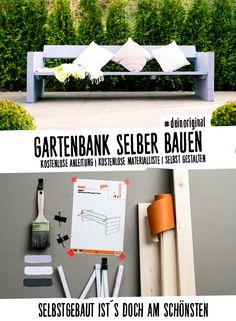 Gartenbank Jule Selber Bauen   Gartenmöbel