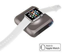 Chargeur Apple Watch doté d'une batterie intégrée, le Kanex GoPower Watch offre 6 recharges complètes de la montre connectée Apple et la liberté qui va avec