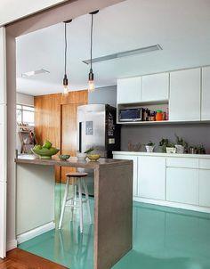 cocina revestimiento epoxy