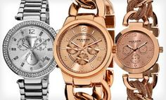 Groupon - Akribos XXIV Women's Watches (Up to 89% Off). 12 Styles Available. Free Shipping and Free Returns. in Online Deal. Groupon deal price: $55.00