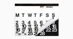 The Stendig Calendar 2017
