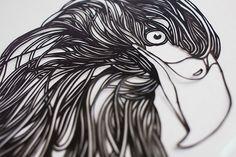 aigle-papier-art-detail-2