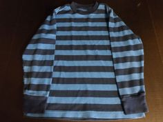 $5.97/ Youth Boys Shirt Faded Glory Striped Back to School BTS Medium size 8 ~~see more youth, kids, children's clothing + over 20 categories of merchandise in my store. SHIPPING IS ALWAYS FREE in the USA; I do ship globally www.shellyssweetfinds.com