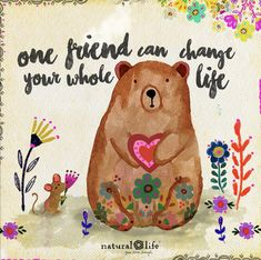 One friend can definitely change your whole life!:) Depending on the person who you become friends with. Positive Words, Positive Thoughts, Positive Quotes, Positive Vibes, Quotes Thoughts, Happy Thoughts, Natural Life Quotes, Meaningful Quotes, Inspirational Quotes