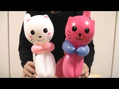 バルーンアート 作り方 ねこ balloon twisting cat - YouTube Cat Birthday, Birthday Parties, Ladybug Youtube, Twisting Balloons, Balloon Cartoon, How To Make Balloon, Ballon Decorations, Balloon Animals, Cat Balloon