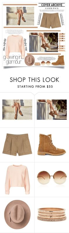 """""""The New Classics With UGG: Contest Entry"""" by amusinglyt ❤ liked on Polyvore featuring UGG, Valentino, Miss Selfridge, Linda Farrow, Marc, Repossi and ugg"""