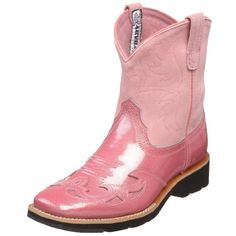 Ariat Showbaby Square Toe Wing-Tip Western Boot (Toddler/Little Kid/Big Kid) Ariat. $34.99. Performance riding boot. leather. Rubber sole