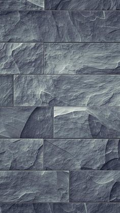 Pin stone wall shows how the different textures of the stone can create contrast, making the tiles on the wall look aesthetically pleasing Tiles Texture, Stone Texture, Ceiling Texture, Textures Murales, Stone Tiles, Slate Stone, Grey Stone, Textured Walls, Textures Patterns