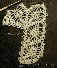 Resultado de imagen para orillas en crochet
