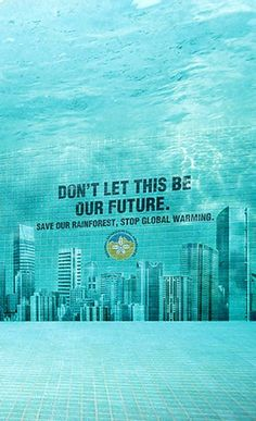message inside wall of pool, global warming and what it can do.