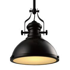 106.23$  Buy here - http://ali4d2.shopchina.info/go.php?t=32720166213 - Industrial Retro Iron Light Bulb Country Painting Large Pendant lamp Fixture Ceiling Lamp Chandelier with 1 Light Black  #buyonline