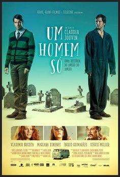 """""""Um Homem Só"""", de Cláudia Jouvin - Insatisfeito com sua vida, um homem procura uma clínica especializada em produzir cópias de seres humanos. #52FilmsByWomen"""
