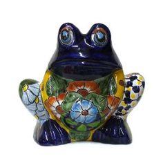 I want this talavera frog planter.