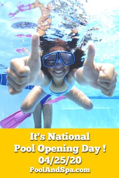 National Pool Opening Day Is Saturday 04/25/2020. Check Out All Of Our Pool Opening Supply Specials This Weekend At PoolAndSpa.com