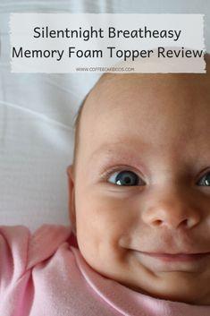 Silentnight Breatheasy Memory Foam Topper | Review - Coffee, Cake, Kids