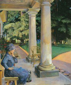 Jacek Malczewski (Polish: 1858-1929) - The Gardener
