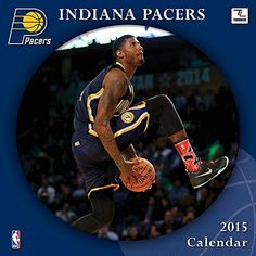 Turner Perfect Timing 2015 Indiana Pacers Team Wall Calendar, 12 x 12 Inches (8011667)