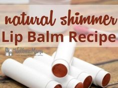 Natural Shimmer Colored Lip Balm Recipe 365x274 Natural Shimmer Lip Balm Recipe