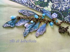 Dragonfly Wings: SHRINK PLASTIC