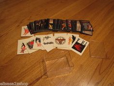 The Crow city of Angles temporary tattoos collector collectible cards plastic ca