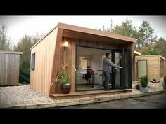 Garden Offices, Garden Rooms and Garden Studios by Green Retreats - YouTube