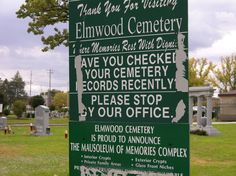 Farmor sin bror, ble gravlagt på Elmwood Park Cemetry, River Grove, Chicago i Sept. 1951.
