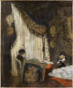 Edouard Vuillard, Madame Hessel à sa fenêtre ✏✏✏✏✏✏✏✏✏✏✏✏✏✏✏✏ IDEE CADEAU / CUTE GIFT IDEA  ☞ http://gabyfeeriefr.tumblr.com/archive ✏✏✏✏✏✏✏✏✏✏✏✏✏✏✏✏