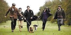 Barbour, walking the dogs. Country lifestyle. #dog #barbour