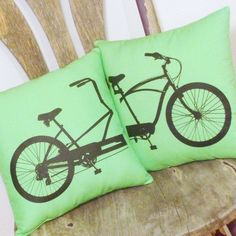tandem bike pillows