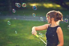 Devon wedding bridesmaid bubbles