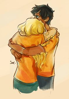 im half way through the battle of the labyrinth and percy and annabeth are killing me they're too cute