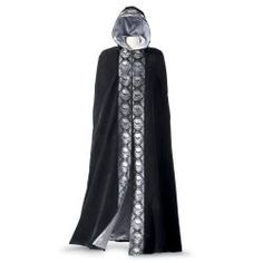 Velvet Skull Costume Cape - Women's Clothing & Symbolic Jewelry – Sexy, Fantasy, Romantic Fashions Halloween Costumes Glasses, Costumes With Glasses, Steampunk Halloween Costumes, Goth Costume, Fancy Costumes, Halloween Vampire, Adult Halloween, Halloween Party, Celtic Costume