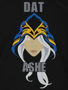 League of Legends: Dat Ashe T-shirt by J!NX ($19.99)