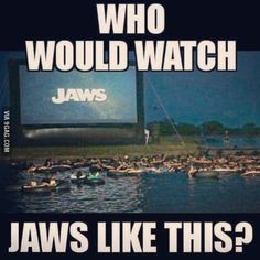 Who would?